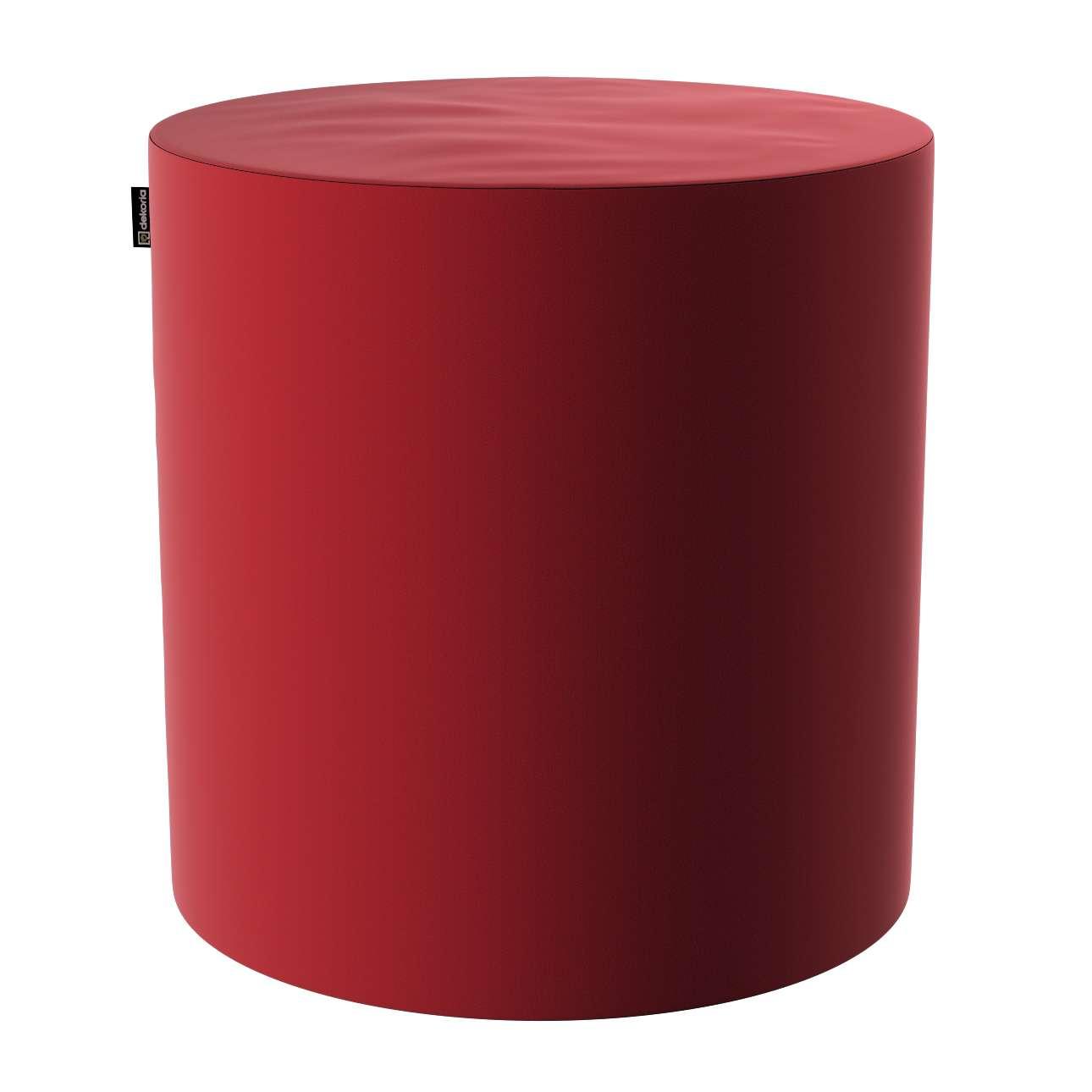 Pouf Barrel von der Kollektion Velvet, Stoff: 704-15