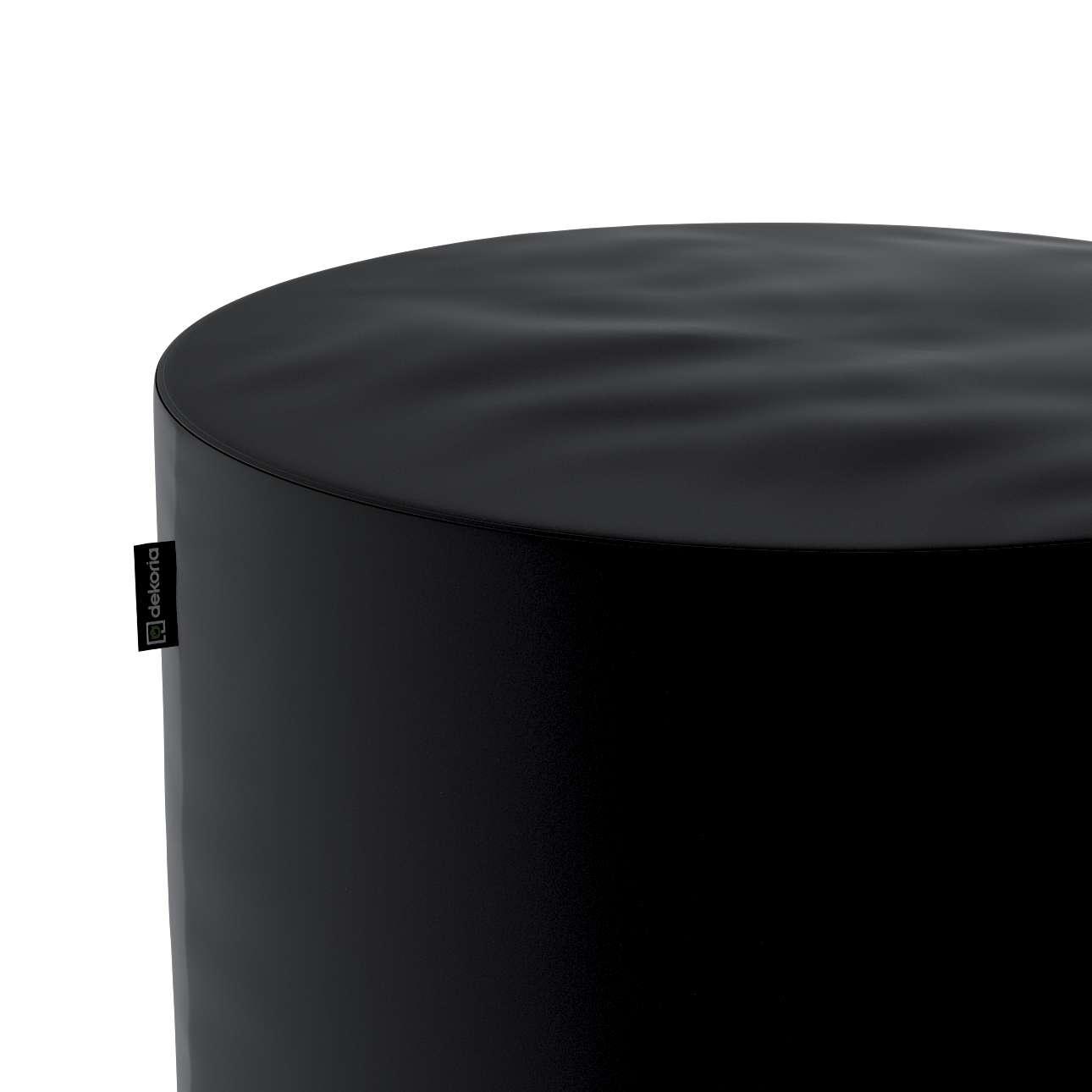 Pouf Barrel von der Kollektion Velvet, Stoff: 704-17