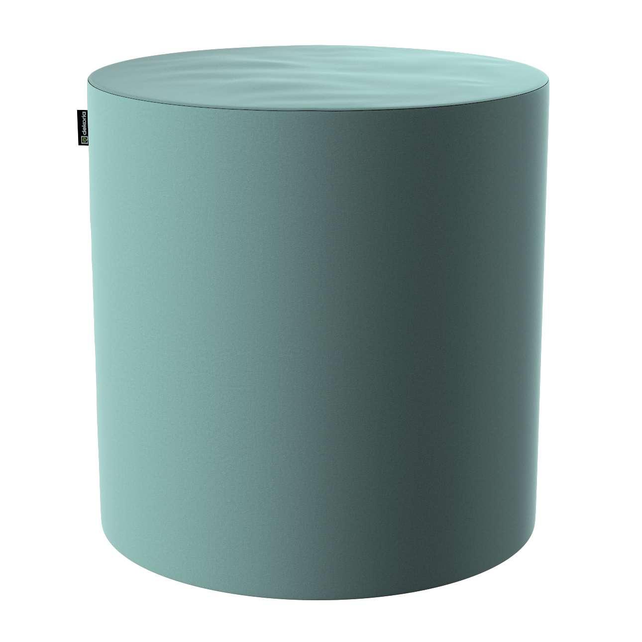 Puf Barrel w kolekcji Velvet, tkanina: 704-18