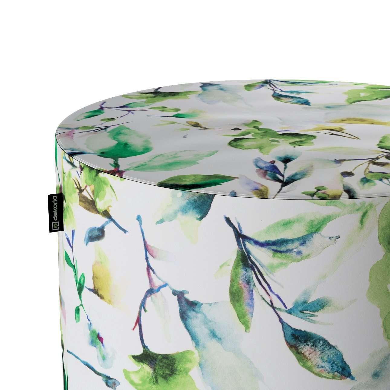 Puf Barrel w kolekcji Velvet, tkanina: 704-20