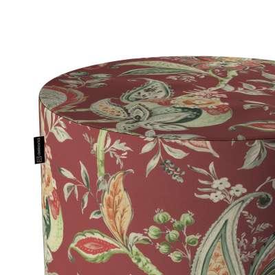 Puf Barrel w kolekcji Gardenia, tkanina: 142-12