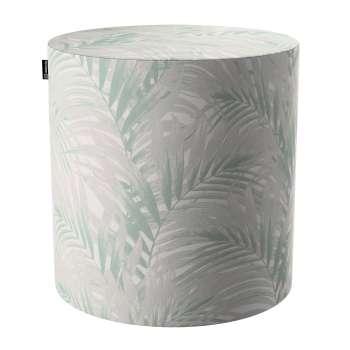 Puf Barrel w kolekcji Gardenia, tkanina: 142-15