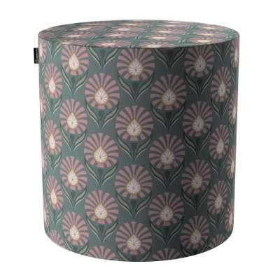 Pouf Barrel von der Kollektion Gardenia, Stoff: 142-17