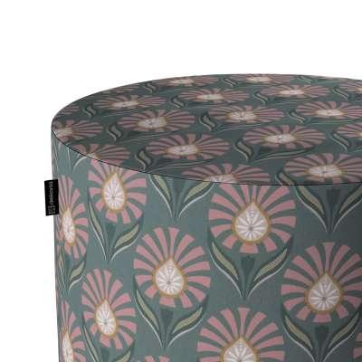 Puf Barrel w kolekcji Gardenia, tkanina: 142-17