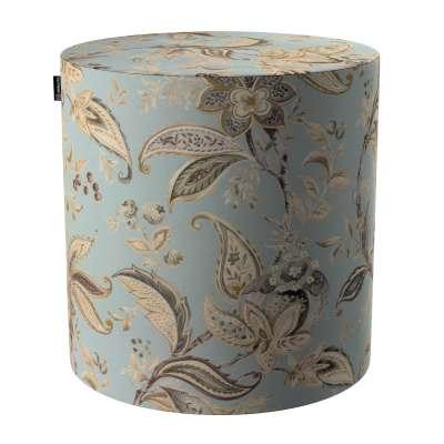 Pouf Barrel von der Kollektion Gardenia, Stoff: 142-18