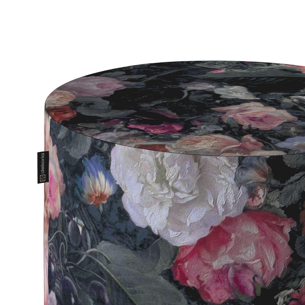Puf Barrel w kolekcji Gardenia, tkanina: 161-02