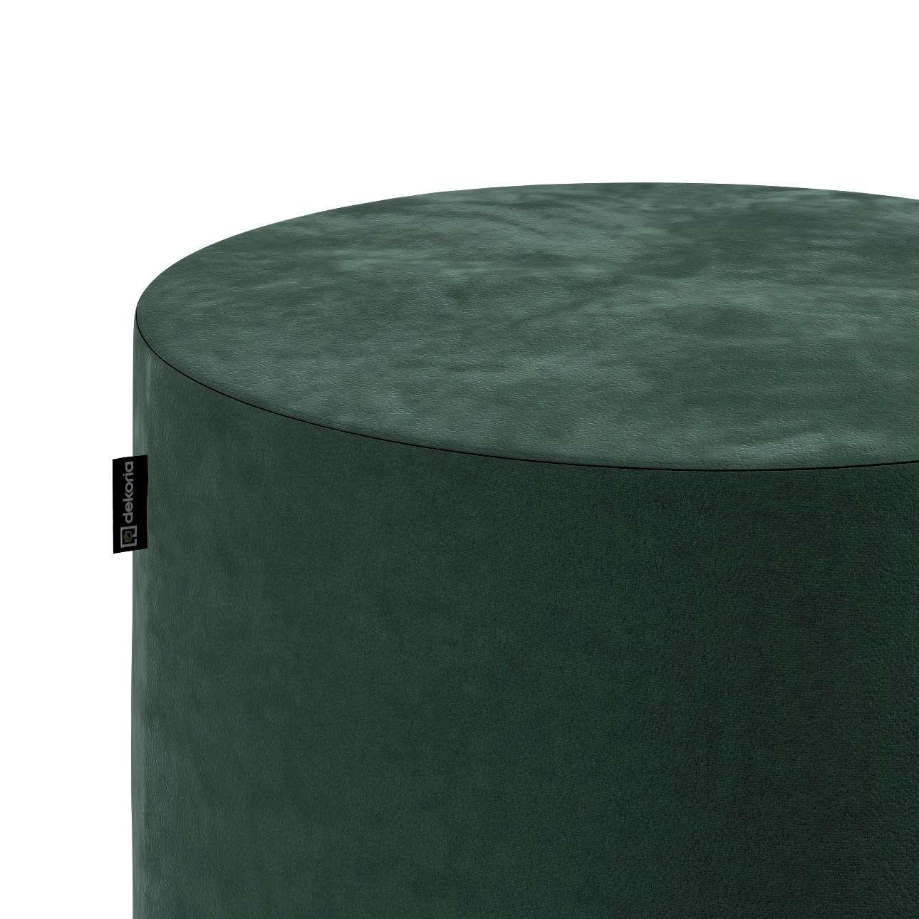 Puf Barrel w kolekcji Velvet, tkanina: 704-25