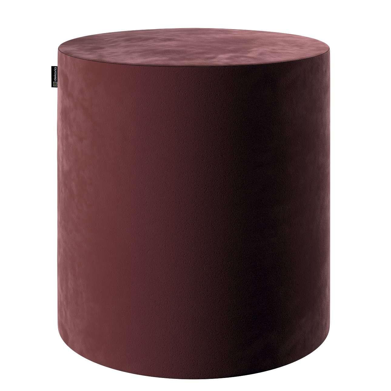 Puf Barrel w kolekcji Velvet, tkanina: 704-26