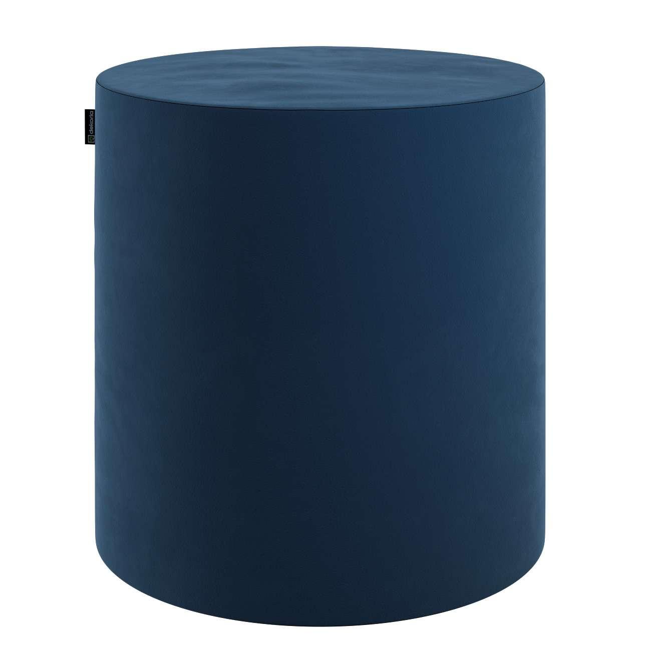 Puf Barrel w kolekcji Velvet, tkanina: 704-29