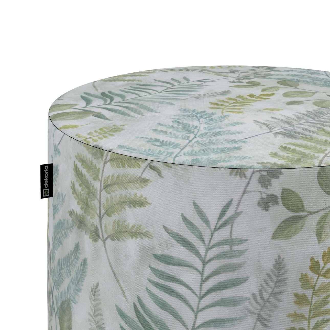 Pouf Barrel von der Kollektion Tropical Island, Stoff: 142-46