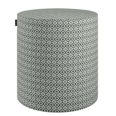 Pufas Barrel 142-76 juoda-balta Kolekcija Black & White