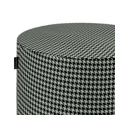 Pouf Barrel 142-77 schwarz-weiß Kollektion Black & White