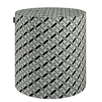 Puf Barrel 142-78 Kolekcja Black & White