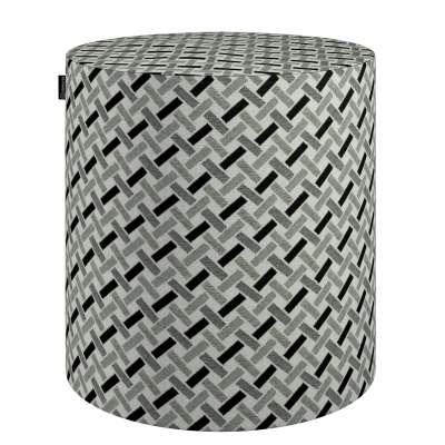 Sedák Barrel- válec pevný,  d40cm, výška 40cm 142-78 Kolekce Black & White