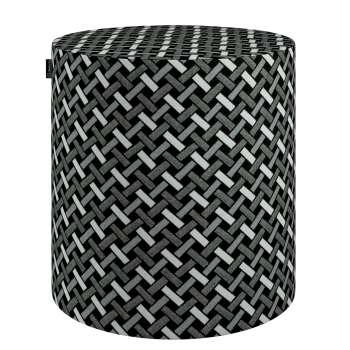 Puf Barrel 142-87 Kolekcja Black & White