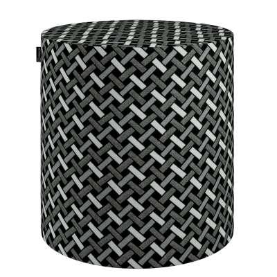 Pouf Barrel 142-87 schwarz-weiß Kollektion Black & White