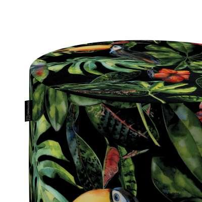 Pouf Barrel von der Kollektion Velvet, Stoff: 704-28