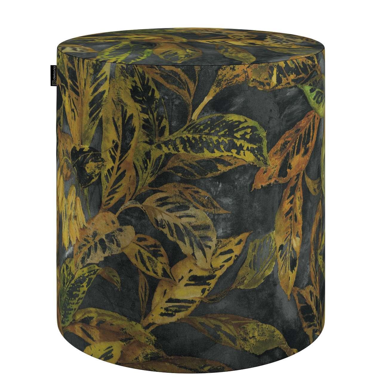 Pouf Barrel von der Kollektion Abigail, Stoff: 143-01