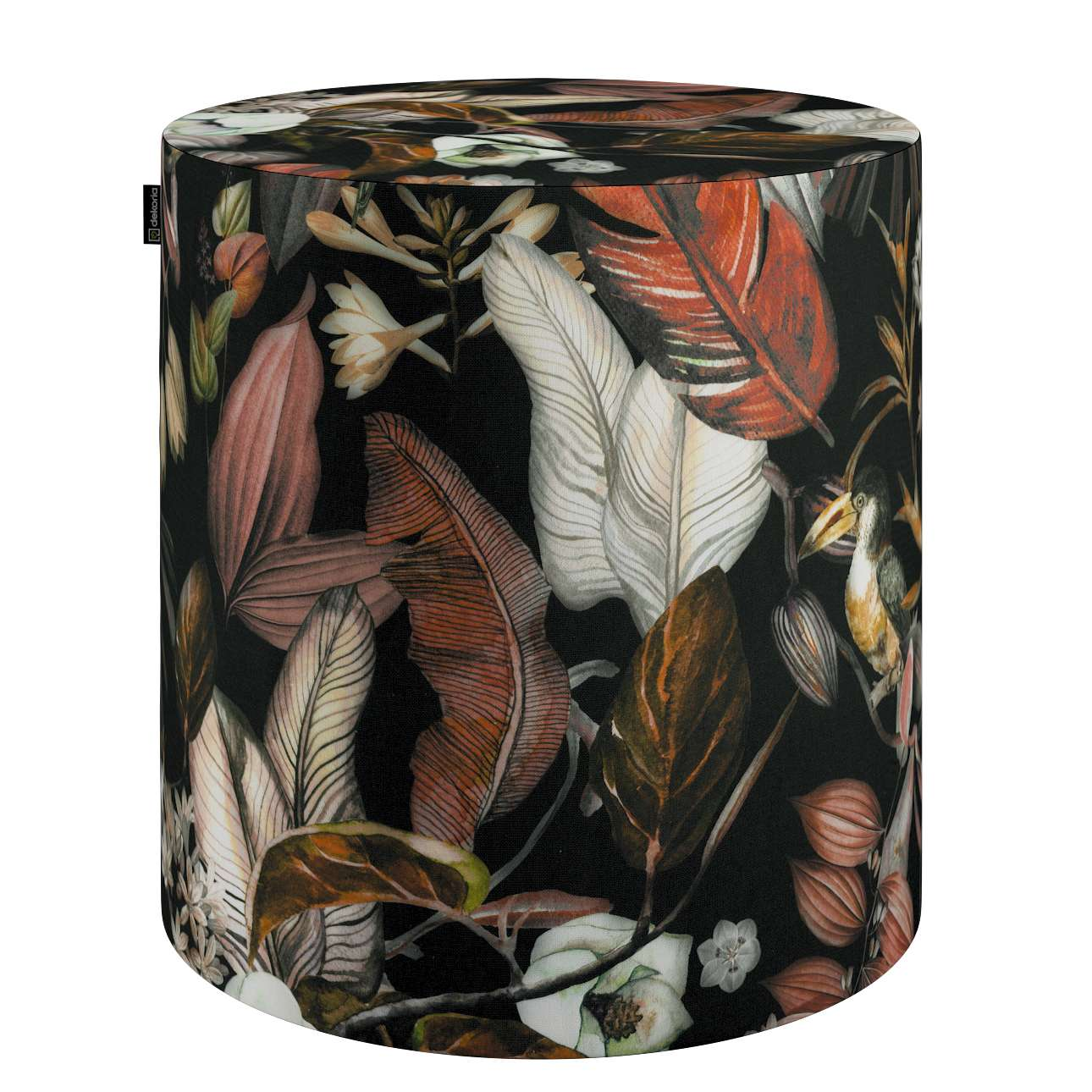Puf Barrel w kolekcji Abigail, tkanina: 143-10