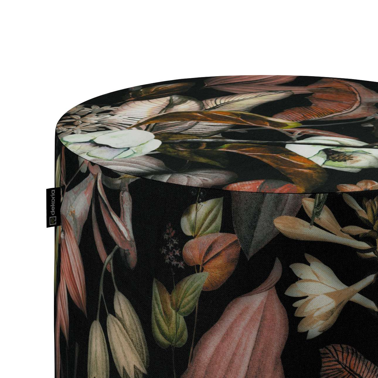 Pouf Barrel von der Kollektion Abigail, Stoff: 143-10