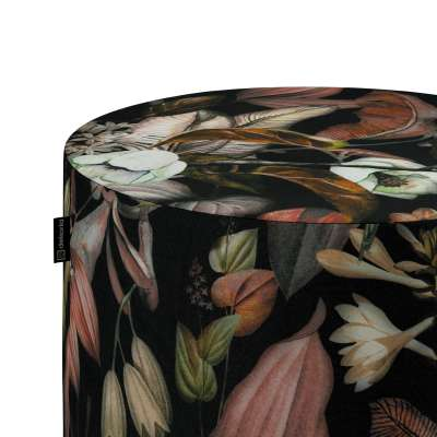 Pouf Barrel 143-10 schwarz- braun Kollektion Abigail