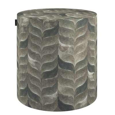 Puf Barrel w kolekcji Abigail, tkanina: 143-12