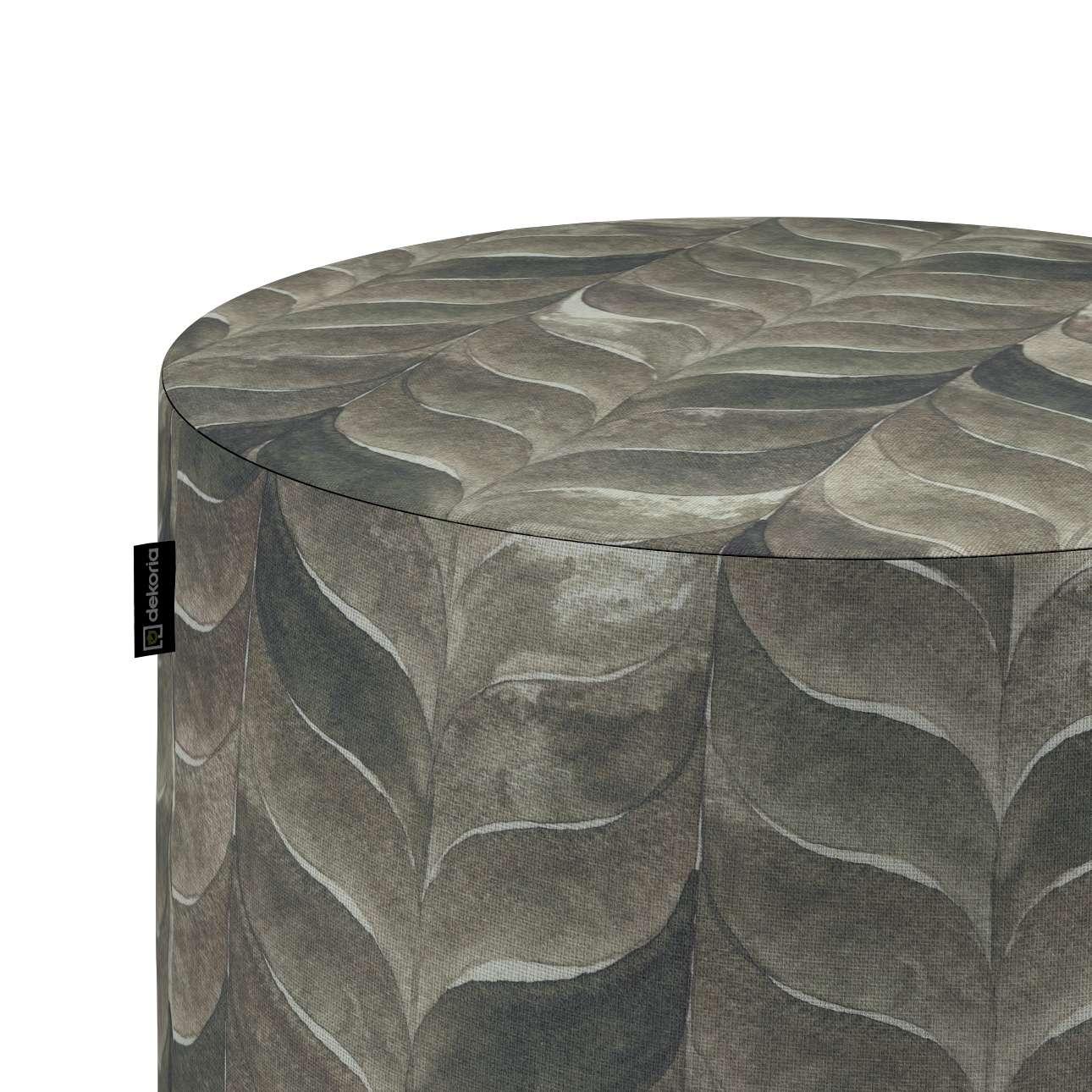 Pouf Barrel von der Kollektion Abigail, Stoff: 143-12