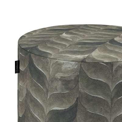 Taburetka valec, tvrdá V kolekcii Abigail, tkanina: 143-12