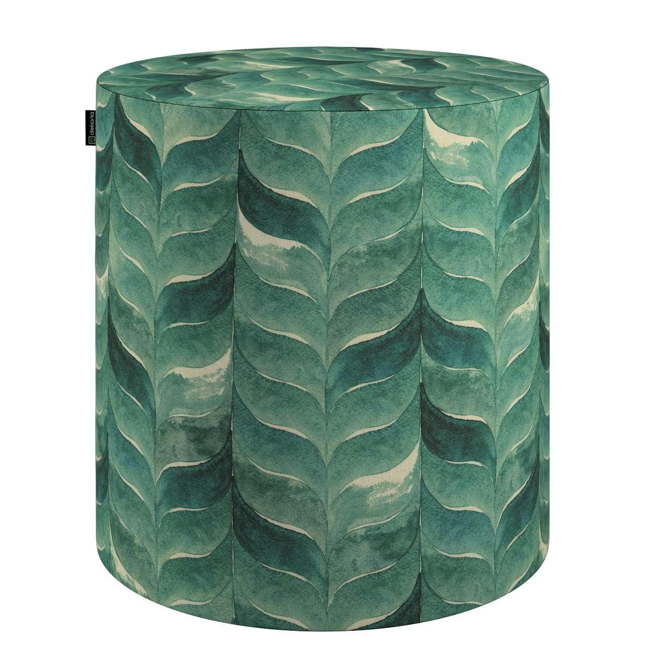 Puf Barrel w kolekcji Abigail, tkanina: 143-16