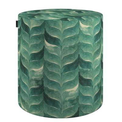 Pouf Barrel von der Kollektion Abigail, Stoff: 143-16