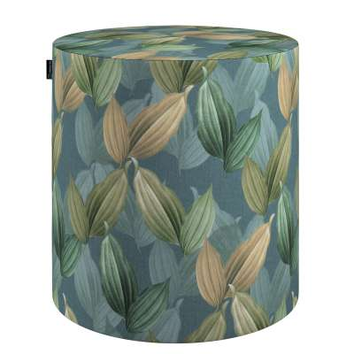 Puf Barrel w kolekcji Abigail, tkanina: 143-20
