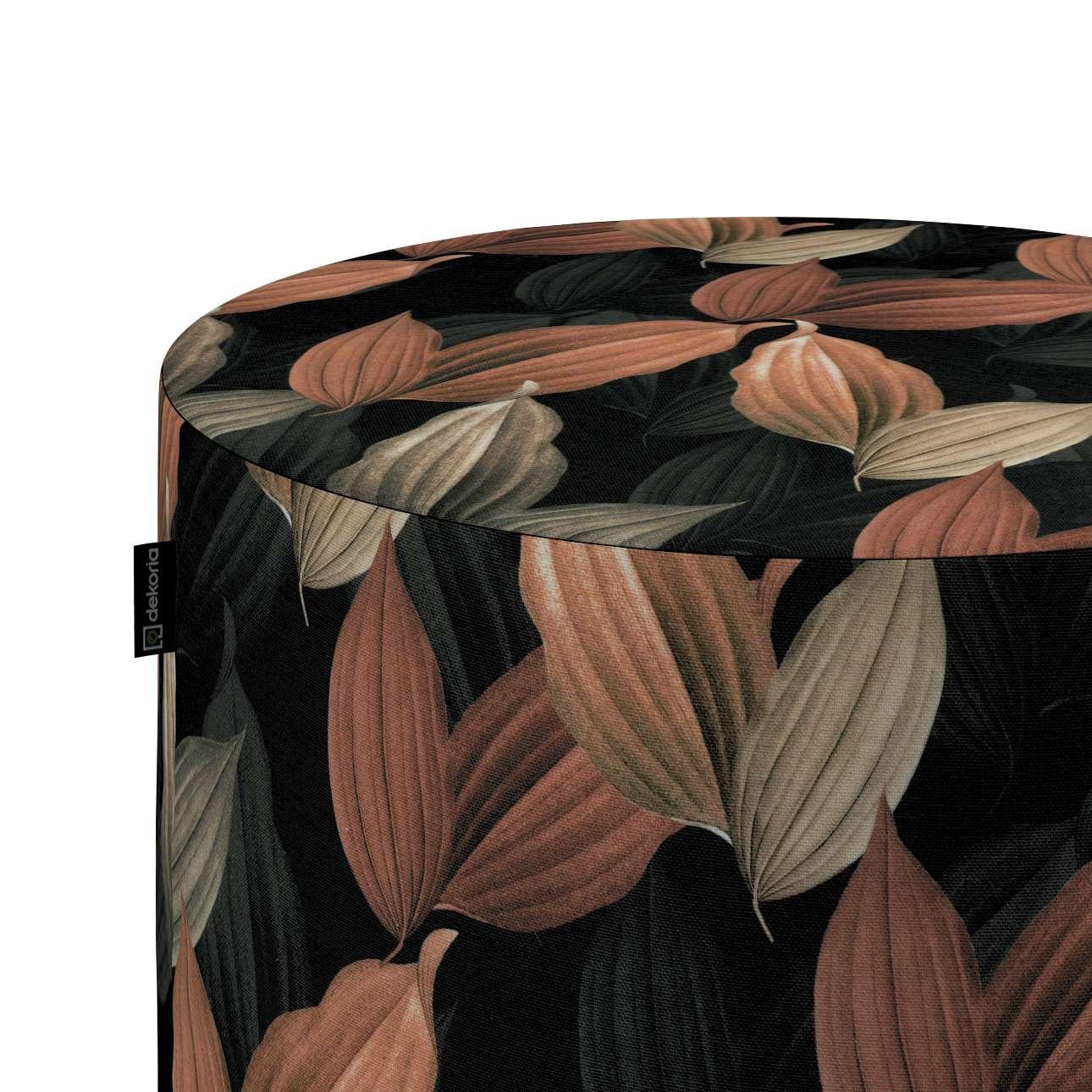 Puf Barrel w kolekcji Abigail, tkanina: 143-21