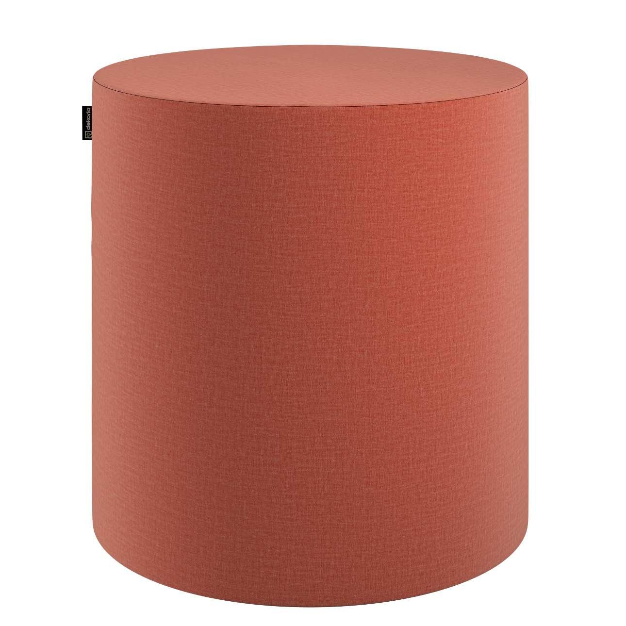 Puf Barrel w kolekcji Ingrid, tkanina: 705-37