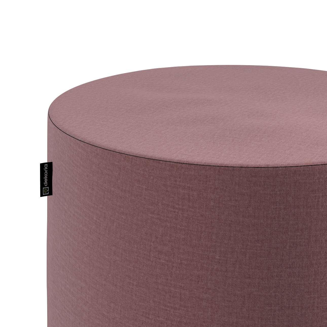 Puf Barrel w kolekcji Ingrid, tkanina: 705-38