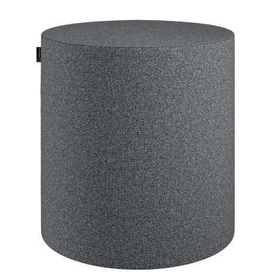 Sedák Barrel- válec pevný,  d40cm, výška 40cm 704-47 tmavě šedý melanž Kolekce Amsterdam