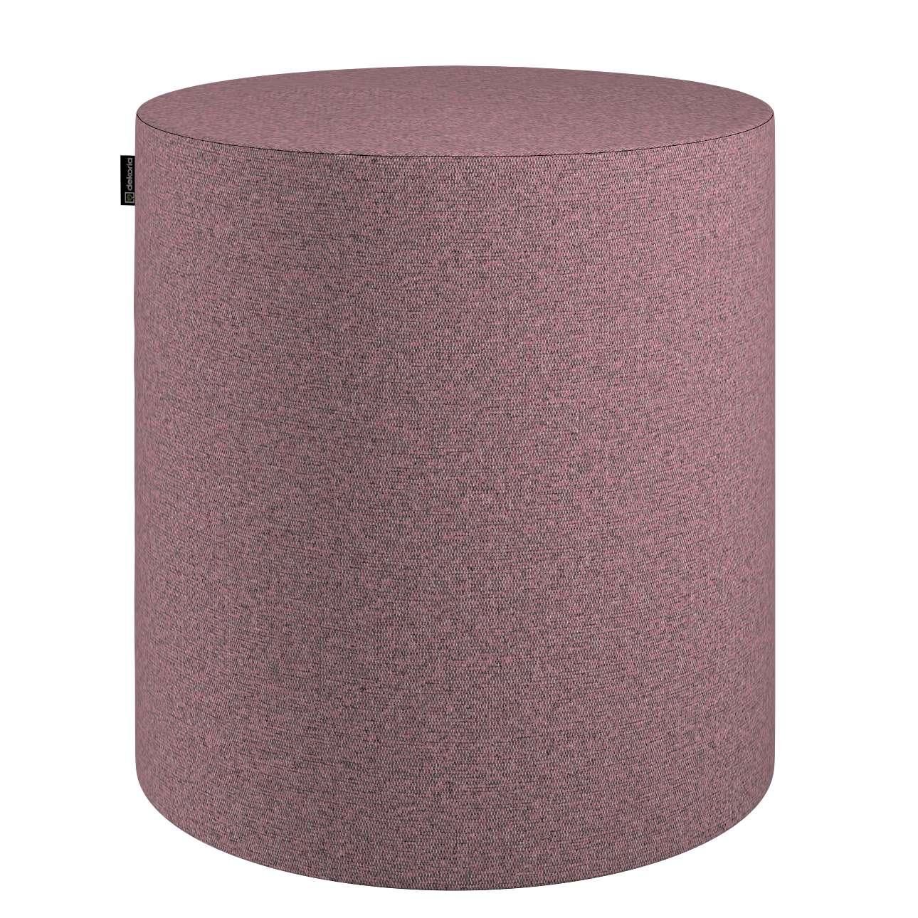 Pouf Barrel von der Kollektion Amsterdam, Stoff: 704-48