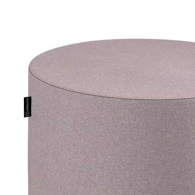 Sedák Barrel- válec pevný,  d40cm, výška 40cm 704-51 pastelově růžový melanž Kolekce Amsterdam