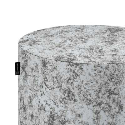Pouf Barrel von der Kollektion Velvet, Stoff: 704-49