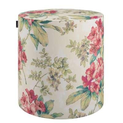Poef Barrel 143-40 rose-ecru Collectie Londres