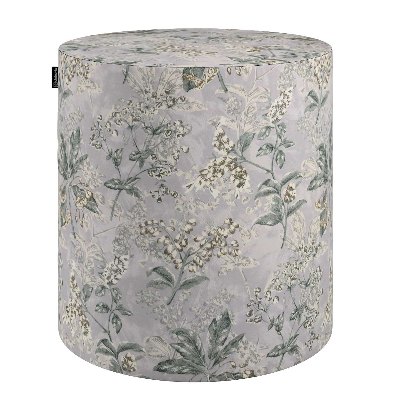 Puf Barrel w kolekcji Londres, tkanina: 143-37