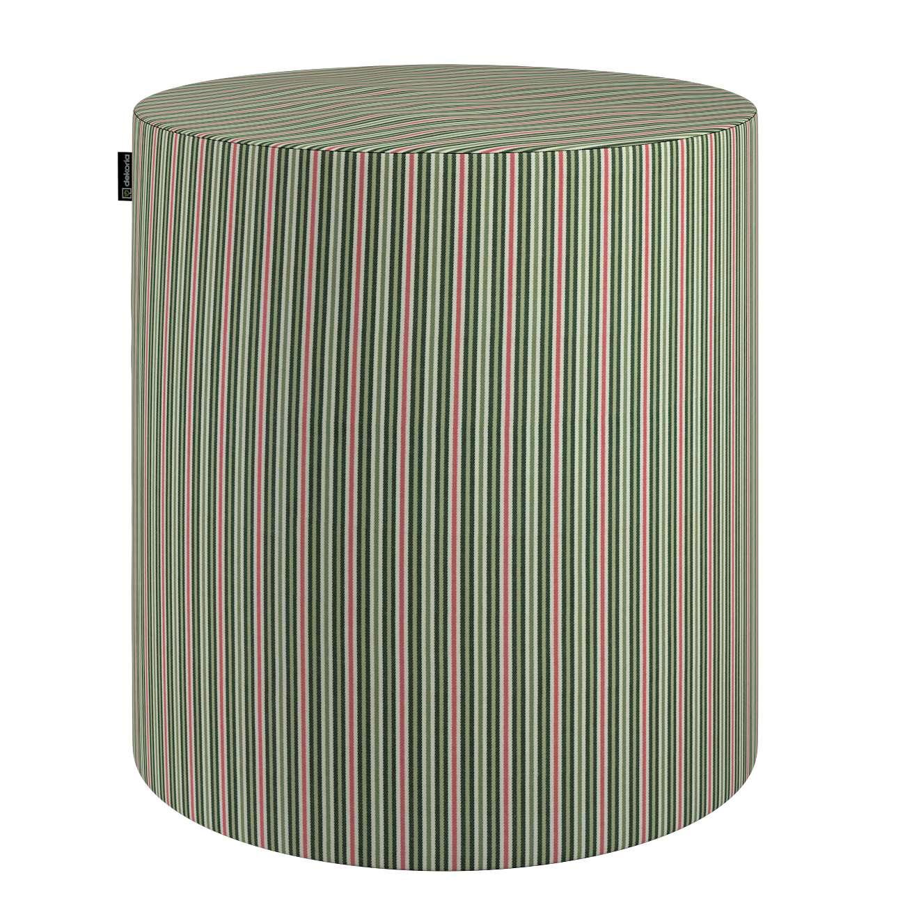 Puf Barrel w kolekcji Londres, tkanina: 143-42