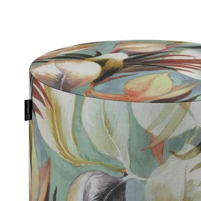 Puf Barrel w kolekcji Abigail, tkanina: 143-61