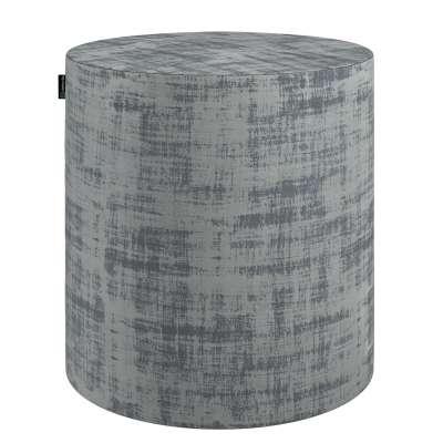 Poef Barrel 704-32 grijs Collectie Velvet