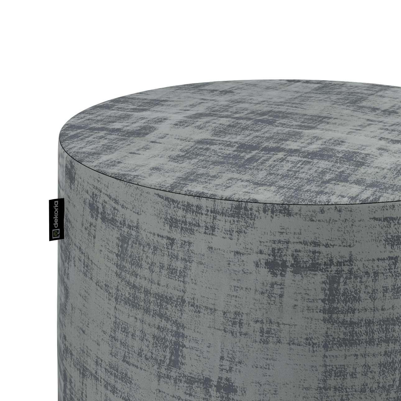 Puf Barrel w kolekcji Velvet, tkanina: 704-32