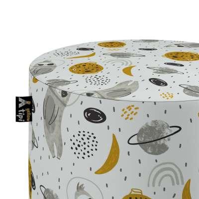 Pouf Bobby 500-44 biało-szara Kollektion Magic Collection