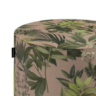 Puf Barrel w kolekcji Tropical Island, tkanina: 143-71