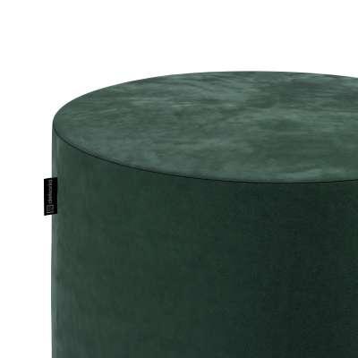 Sedák Barrel- válec pevný,  d40cm, výška 40cm 704-25 tmavá lesní zeleň Kolekce Christmas