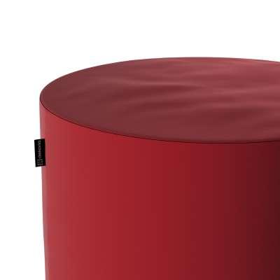 Sedák Barrel- válec pevný,  d40cm, výška 40cm 704-15 sytá červená Kolekce Christmas