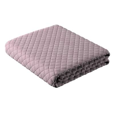 Velvet diamond quilted throw in collection Velvet, fabric: 704-14