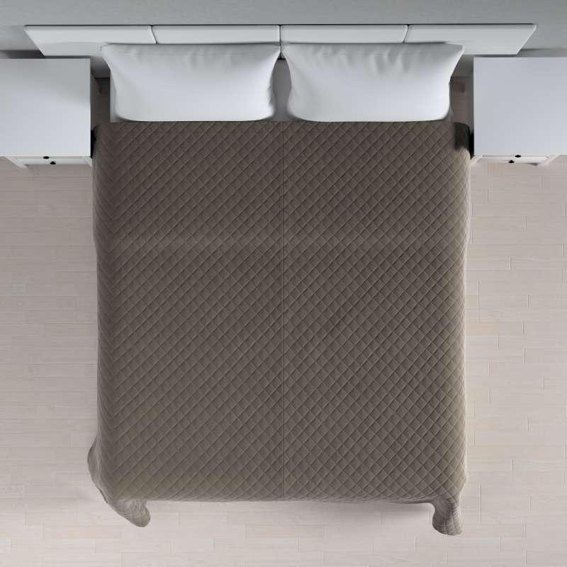 Ágytakaró káró szteppeléssel a kollekcióból Velvet  Lakástextil, Dekoranyag: 704-19